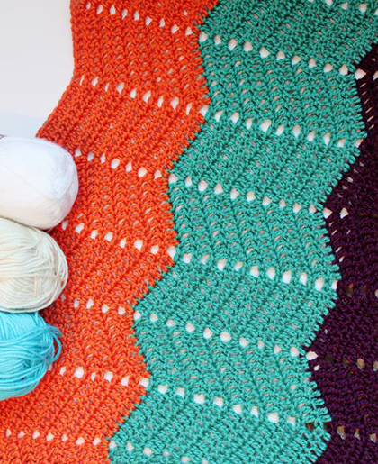 Classic Ripple Crochet Tutorial