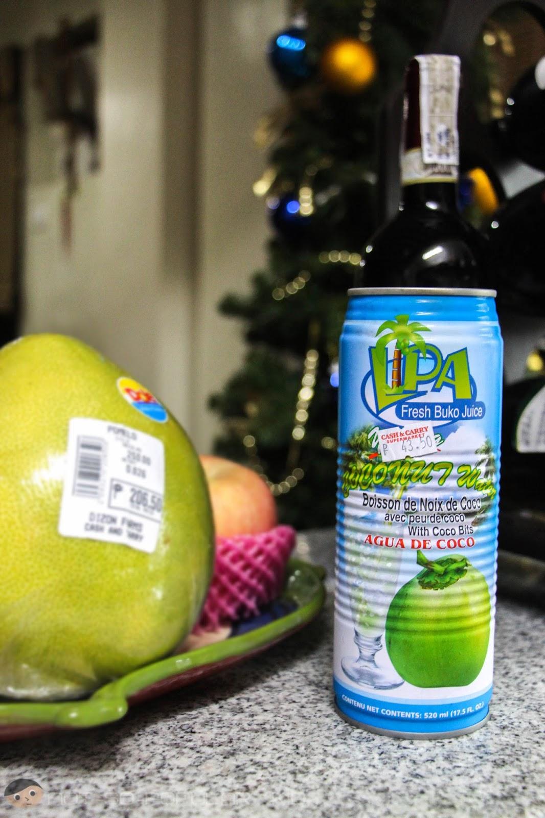 LIPA Fresh Buko Juice