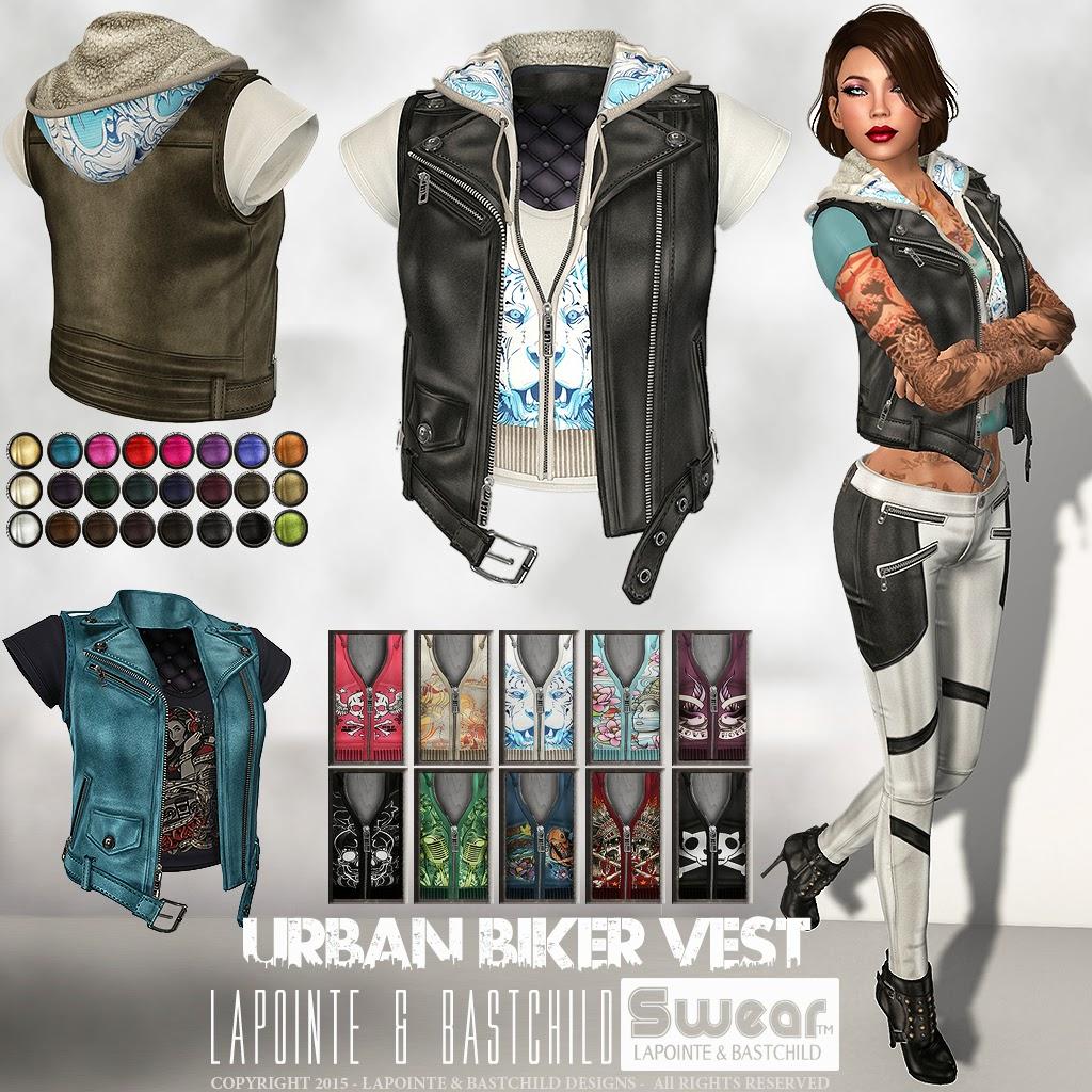 Fashion week How to biker wear vest for girls