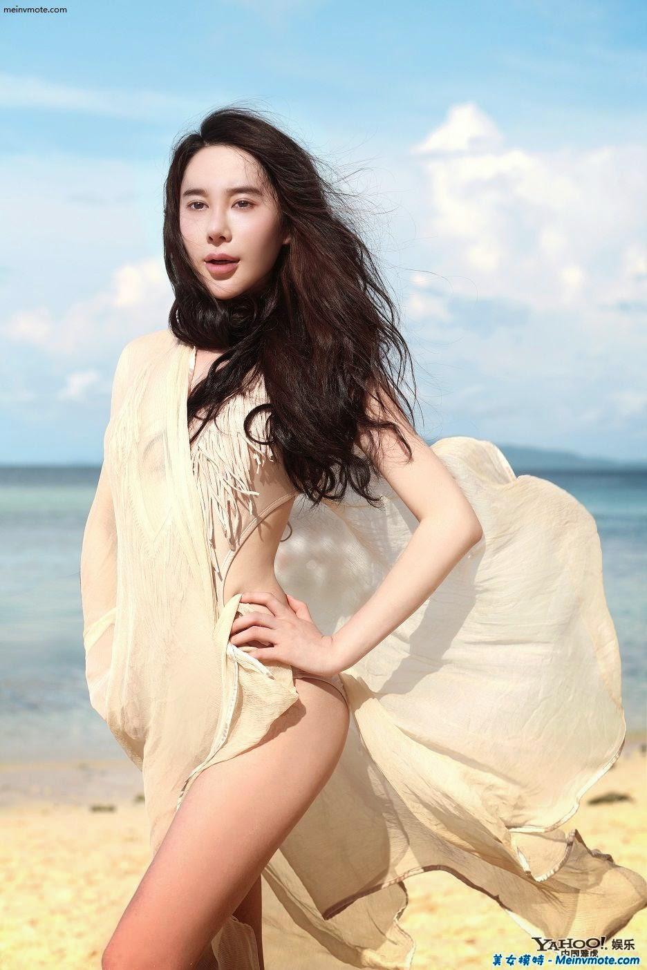 Jiang Yan Yu temperament glamorous Thailand Photo