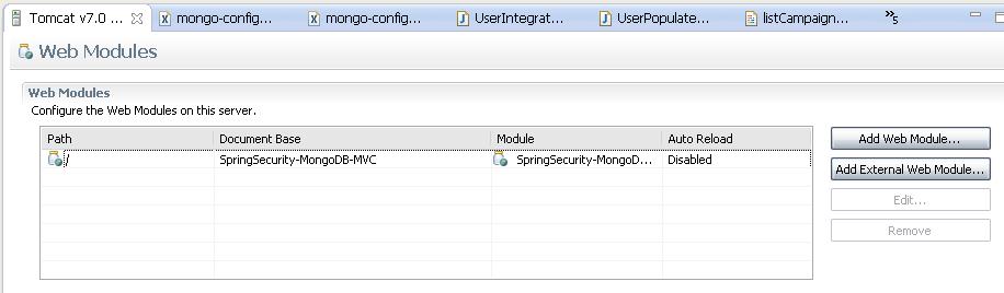 AntuanSoft: MongoDB Spring Security Code Example