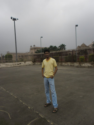 Anshu Dikshant at Akshardham Temple, New Delhi