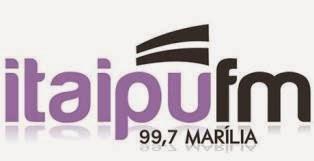 Rádio Itaipu FM de Marília SP ao vivo