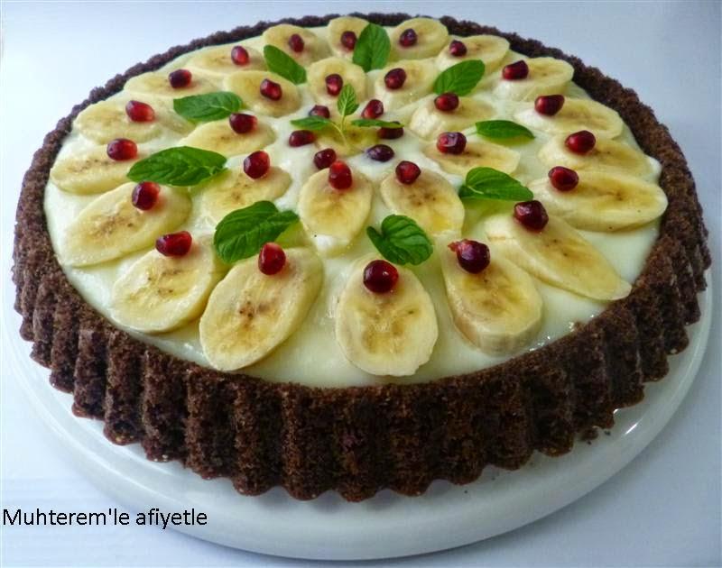 Banana Tart Cake