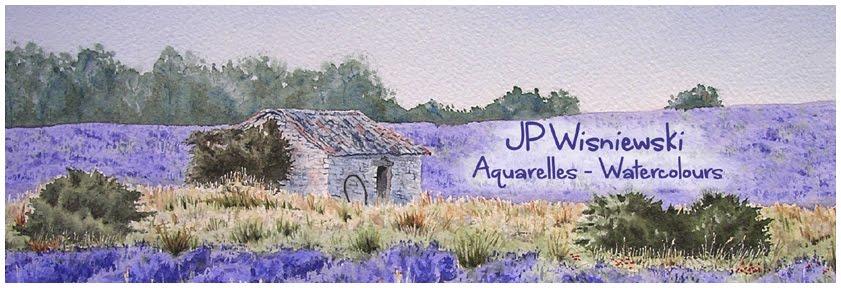 Aquarelles JP Wisniewski