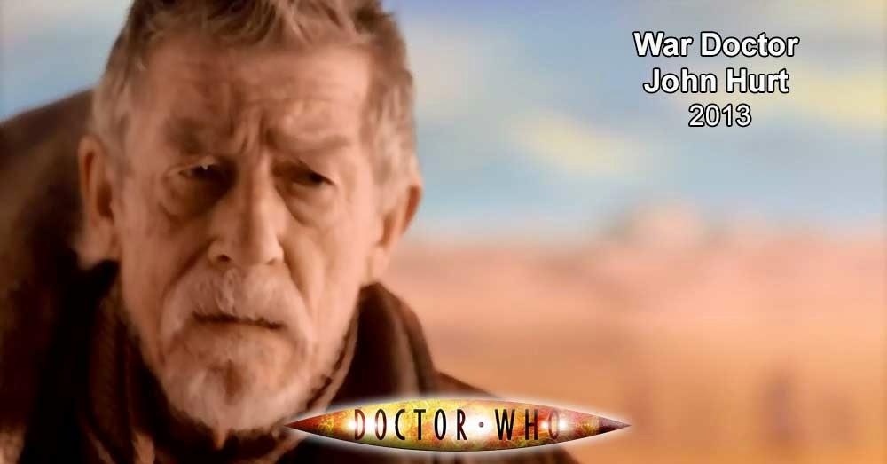 John Hurt, el Doctor Guerrero