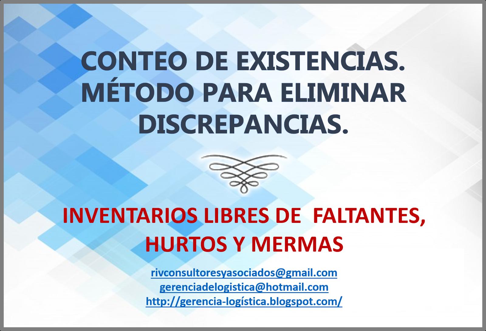 INVENTARIO DE MERCANCÍAS