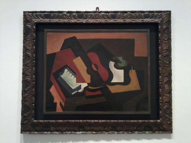María Blanchard, Museo Reina Sofía, Naturaleza muerta a la guitarra, Cubismo,