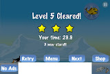 Racing Penguin 3 Stars