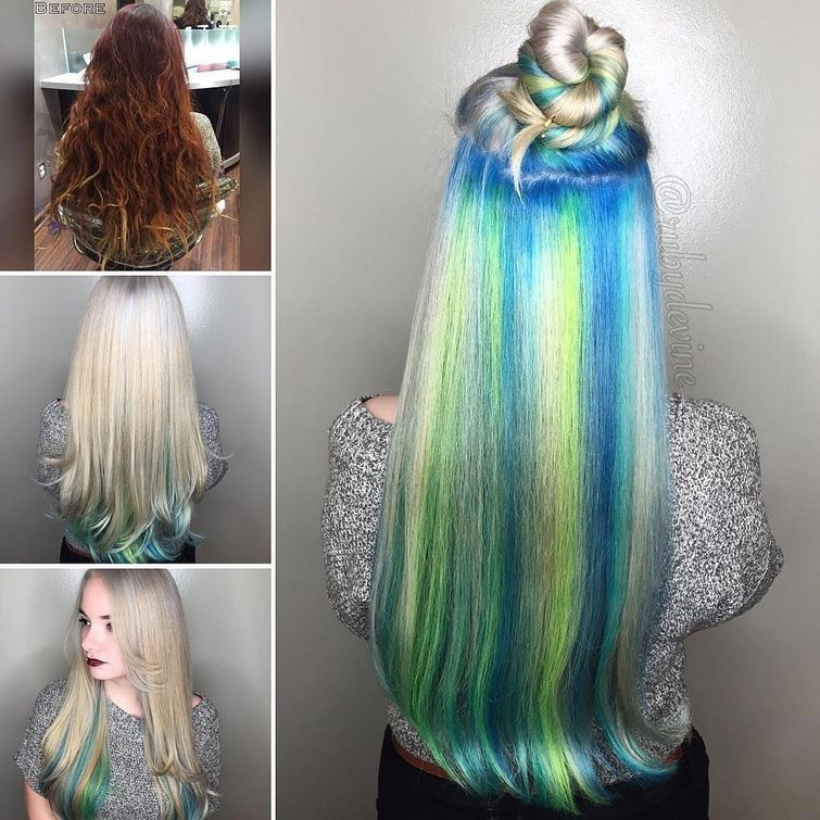 underneath hair color styles whose brightness hidden under hair funny pictures weird pic hair. Black Bedroom Furniture Sets. Home Design Ideas