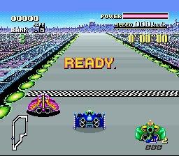 Screenshot of Super Nintendo game F-Zero