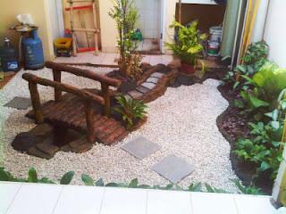 Tukang Taman Surabaya tentang 3 konsep sederhana Taman kering indah