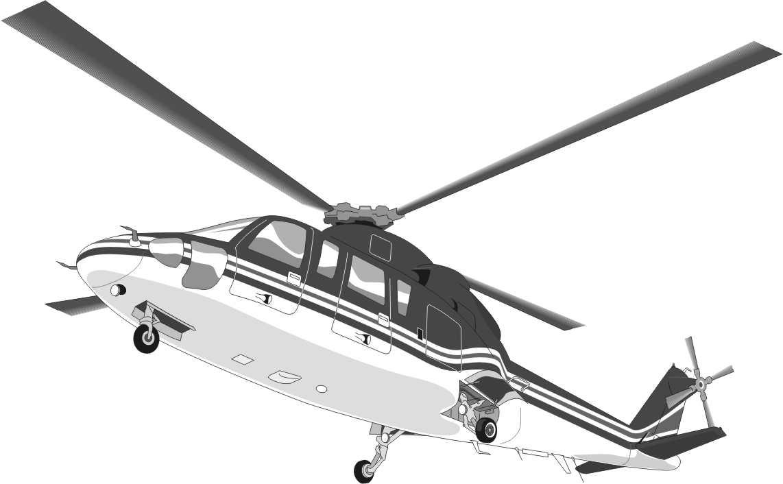Perfecto Helicóptero Para Colorear Friso - Enmarcado Para Colorear ...