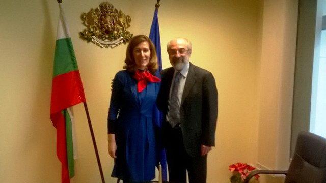 Συνάντηση του Δημάρχου Αλεξανδρούπολης με την Υπουργό Τουρισμού της Βουλγαρίας