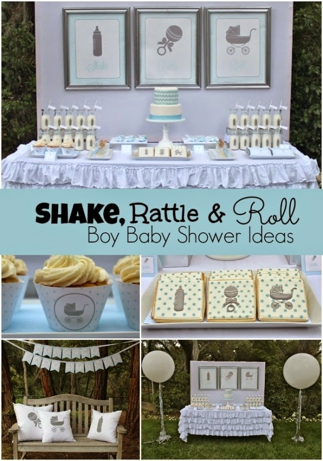 34 awesome boy baby shower themes diy craft projects