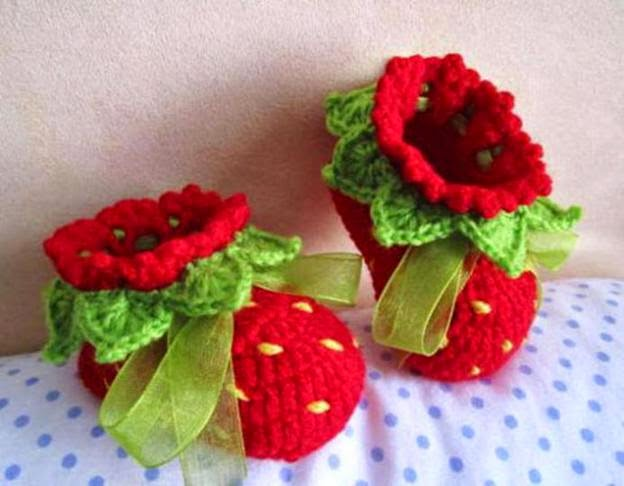 Recycling Arts and Crafts: Crochet Baby Booties