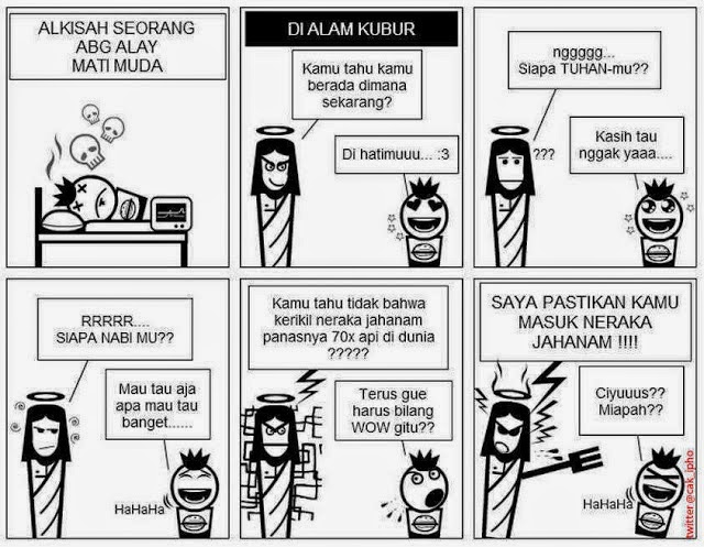 Yang berbahasa inggris dan ada juga yang berbahasa indonesia dibawah