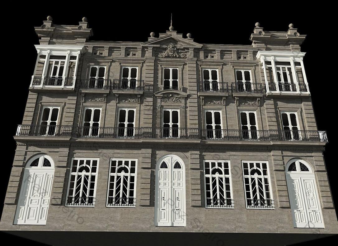 Works 3d edificio sime n 1894 1897 r a progreso - Arquitectos ourense ...