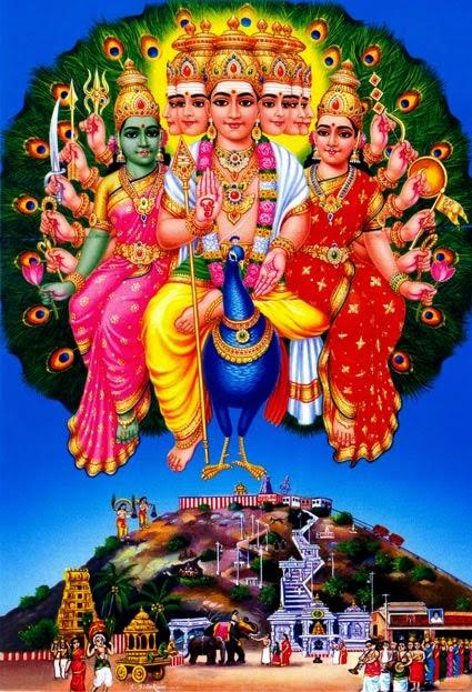Lord Murugan or Kartikeya