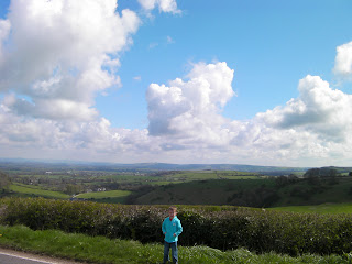 view from american road south dorset