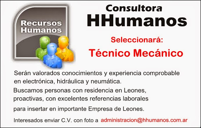 ESPACIO PUBLICITARIO: Consultora HHumanos