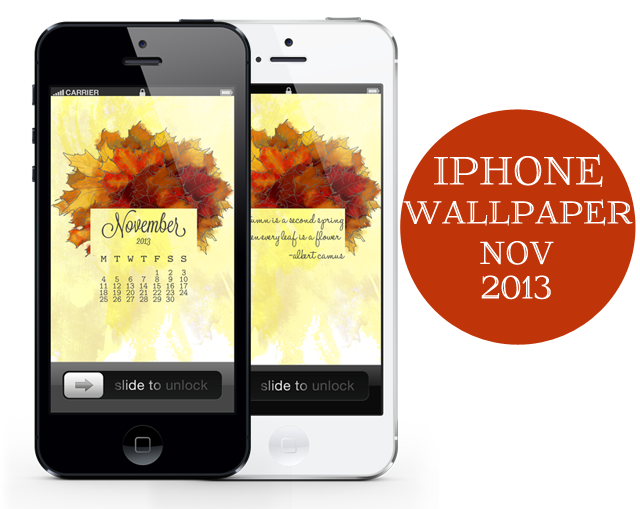 Nov 2013 Wallpaper iPhone