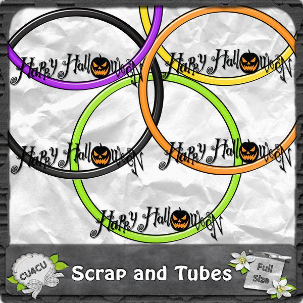 Halloween Frames 2 (CU4CU) .Halloween+Frames+2_Preview_Scrap+and+Tubes