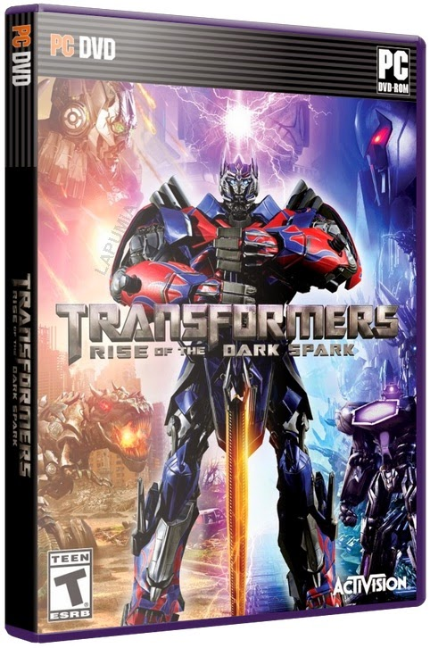 Download - Jogo Transformers Rise of the Dark Spark-FLT PC (2014)