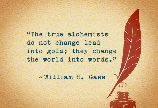 writers quote william h. gass