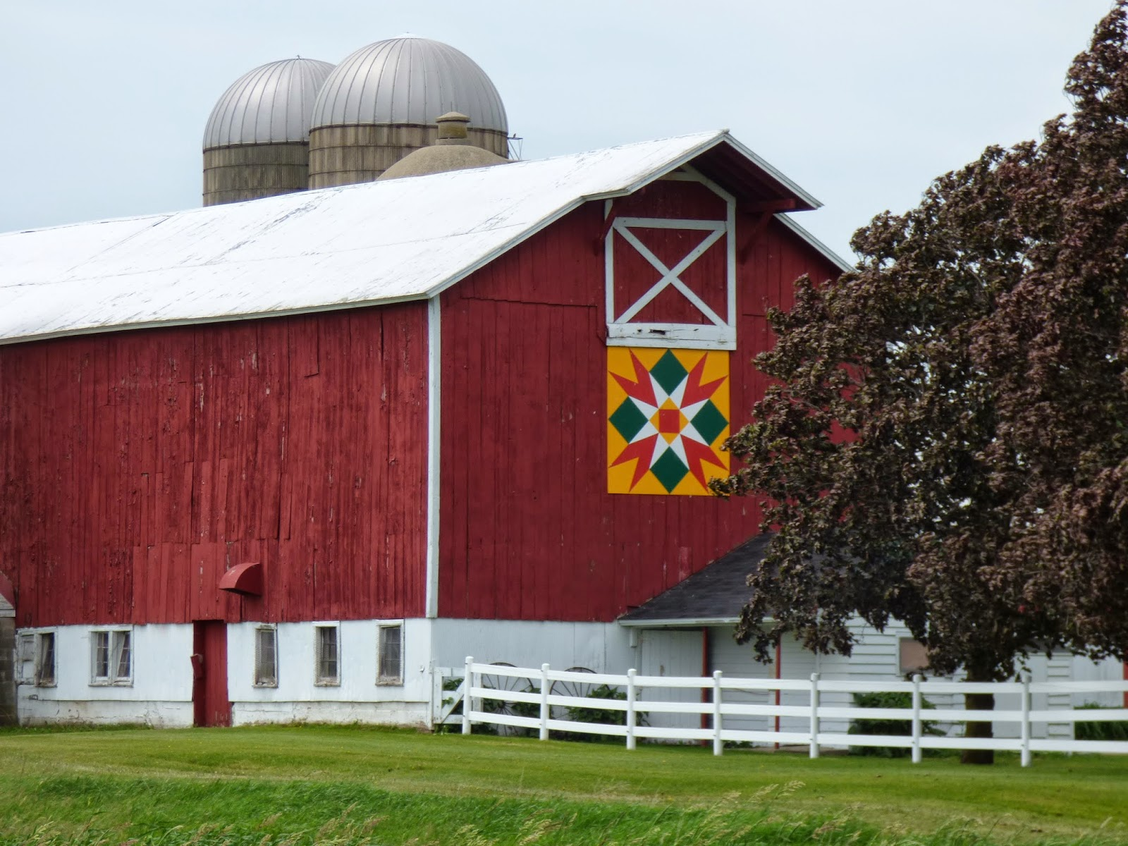 Barn Quilts: More Barn Quilts of Shawao, Wisconsin