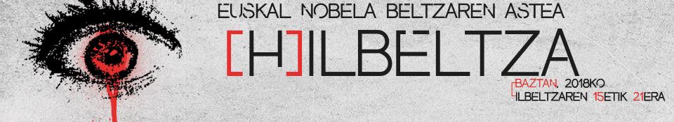 (H)ilbeltza, euskal nobela beltzaren astea