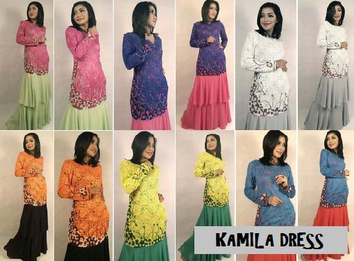 KAMILA DRESS - RM190