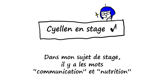 Stage en communication ET en nutrition