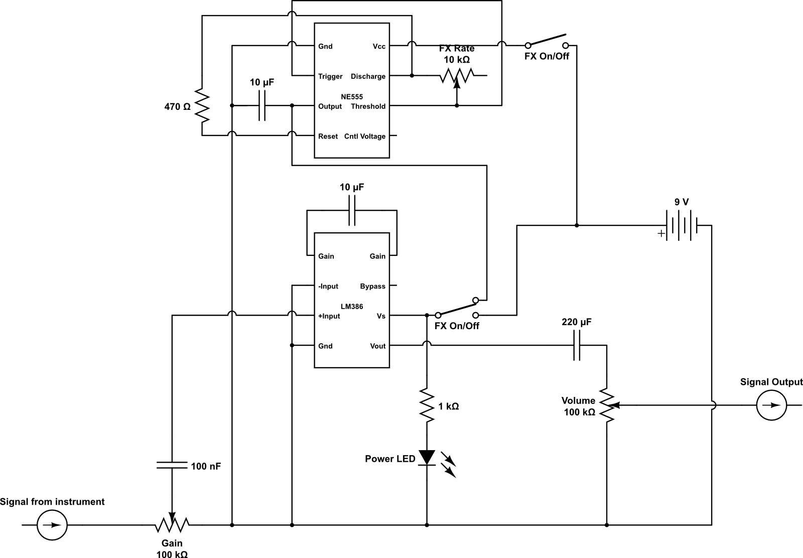 Fuzz Pedal Circuit Diagram Trusted Schematics Wah Wiring Hermanizer Power A Diy Box Macgyver Development