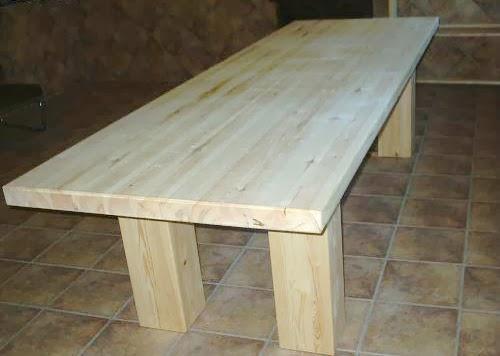 Furniture desing mesa rustica para cocinas de pino maciza - Mesas rusticas de cocina ...