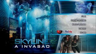 Skyline A Invasão DVD R