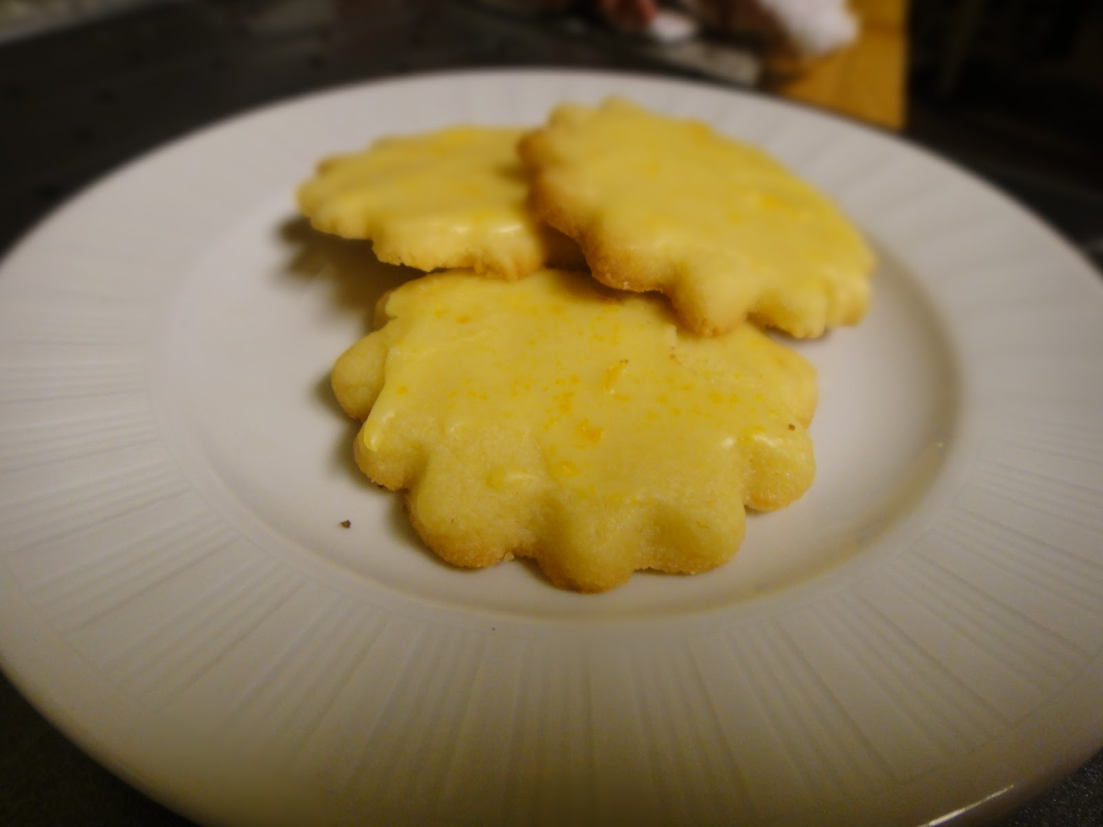 ... Holiday Cookies #2: Orange Butter Cookies with a Grand Marnier Glaze