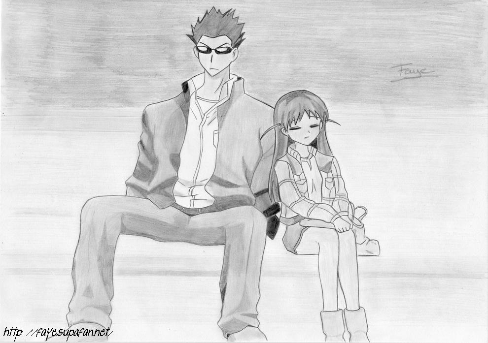 Harima Kenji and Tsukamoto Tenma