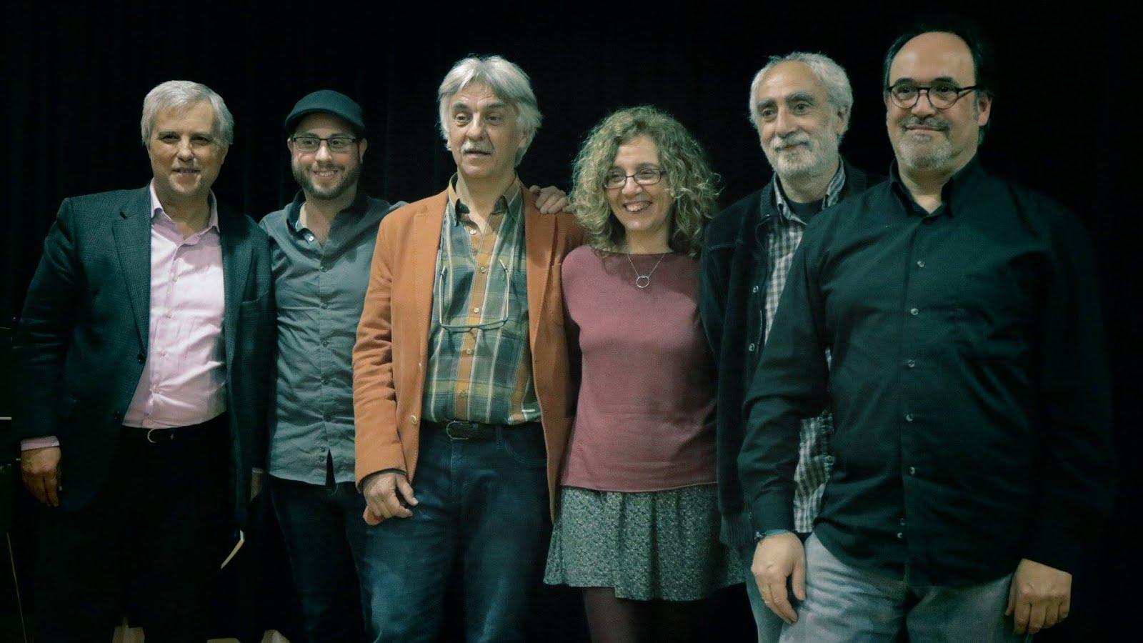 """Presentació """"Llunes d'atzabeja - Lunas de azabache"""" B.Sagrada Família"""