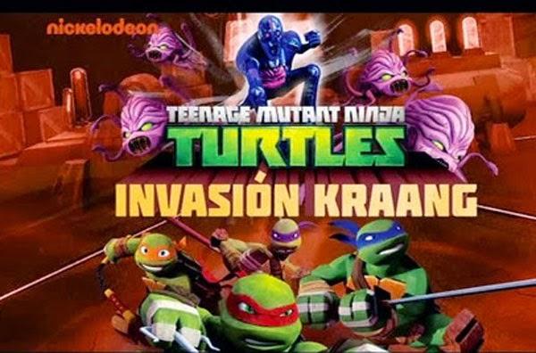 Las Tortugas Ninja 3: La invasión de Kraang , Película online