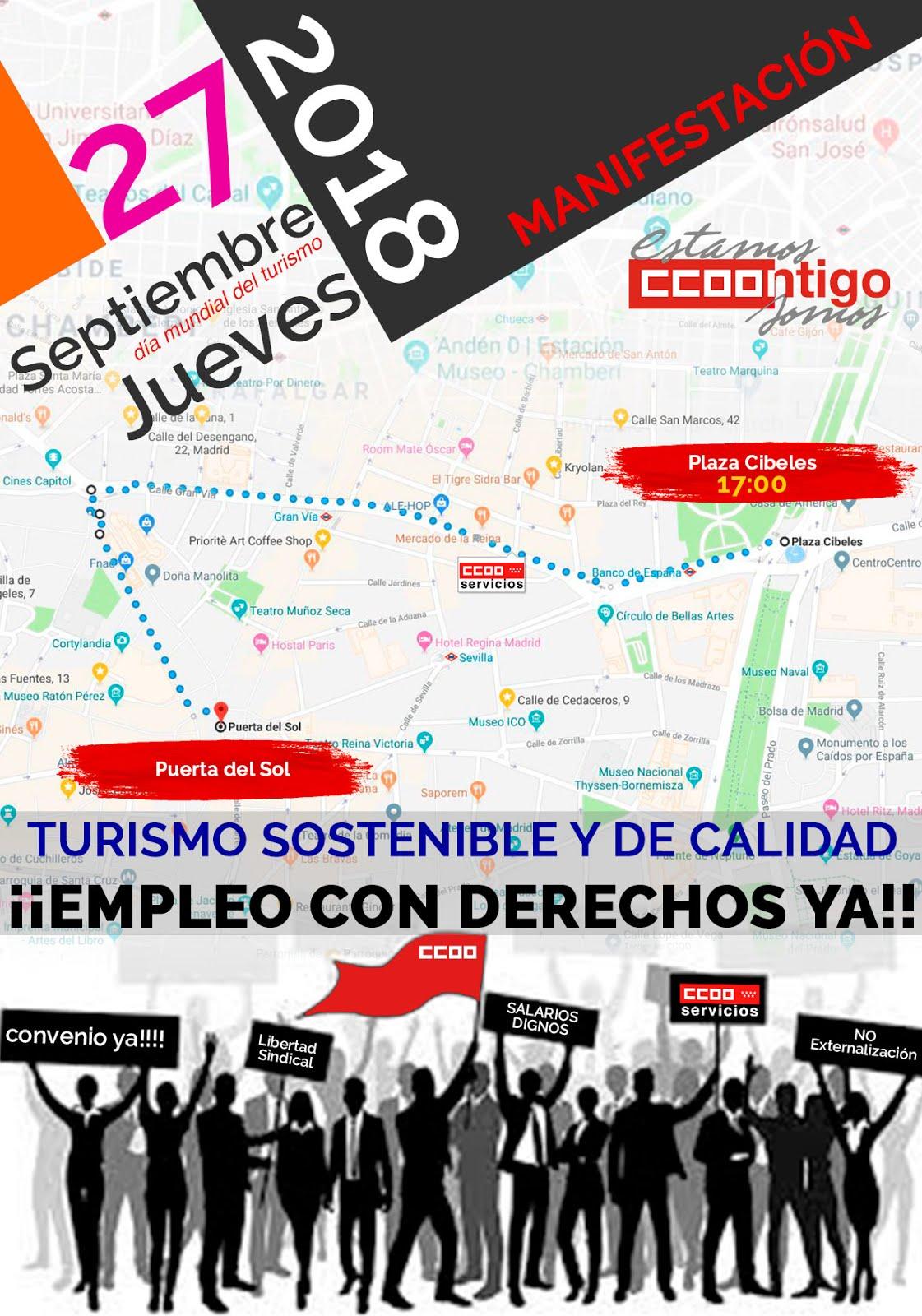 27 septiembre Turismo sostenible y trabajo Digno