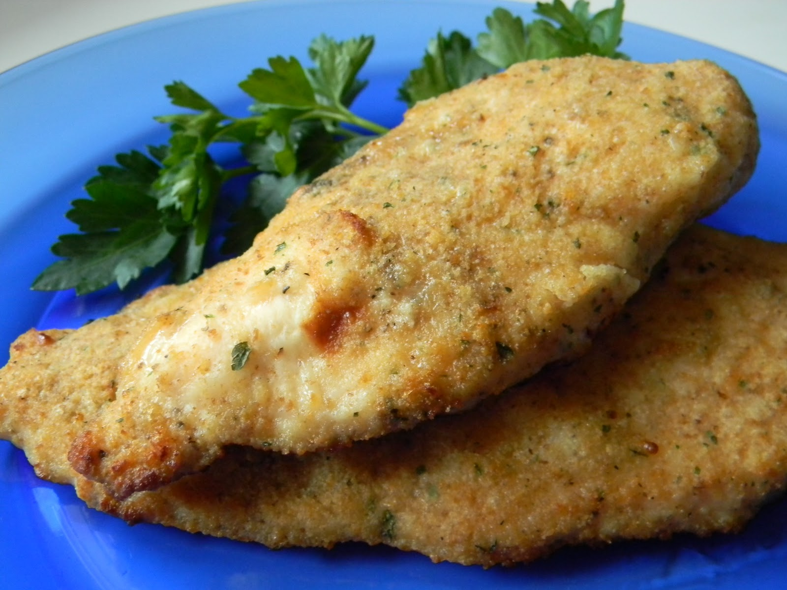 Angie Montroy–Angie's Pantry: Parmesan Encrusted Chicken
