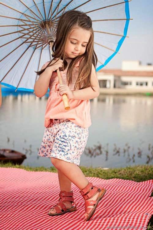 moda en sandalias para niñas verano 2014