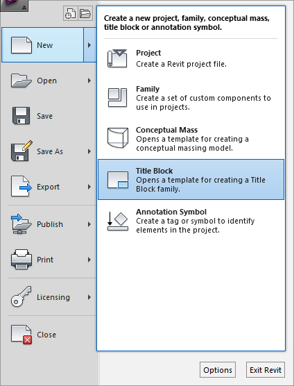 Bim manager revit sheets part 2 title blocks you will be prompted to select a template for the title block out of the box you have some simple templates which are basically outlines of the sheet at pronofoot35fo Images
