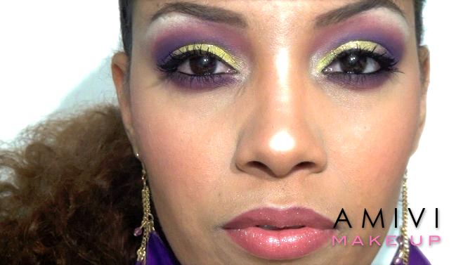 Dernier tuto de l ann e maquillage nouvelle an amivi makeup - Maquillage annee 30 ...