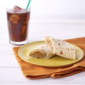 Starbucks-Hawaiian BBQ Sauce Wrap