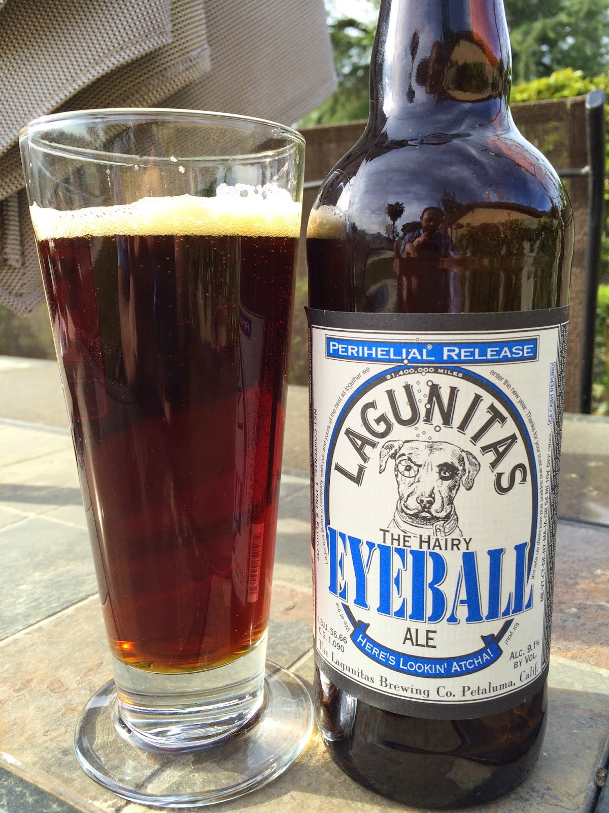 Lagunitas Hairy Eyeball ale 1