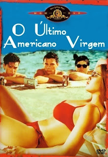 Filme Poster O Último Americano Virgem DVDRip XviD & RMVB Dublado