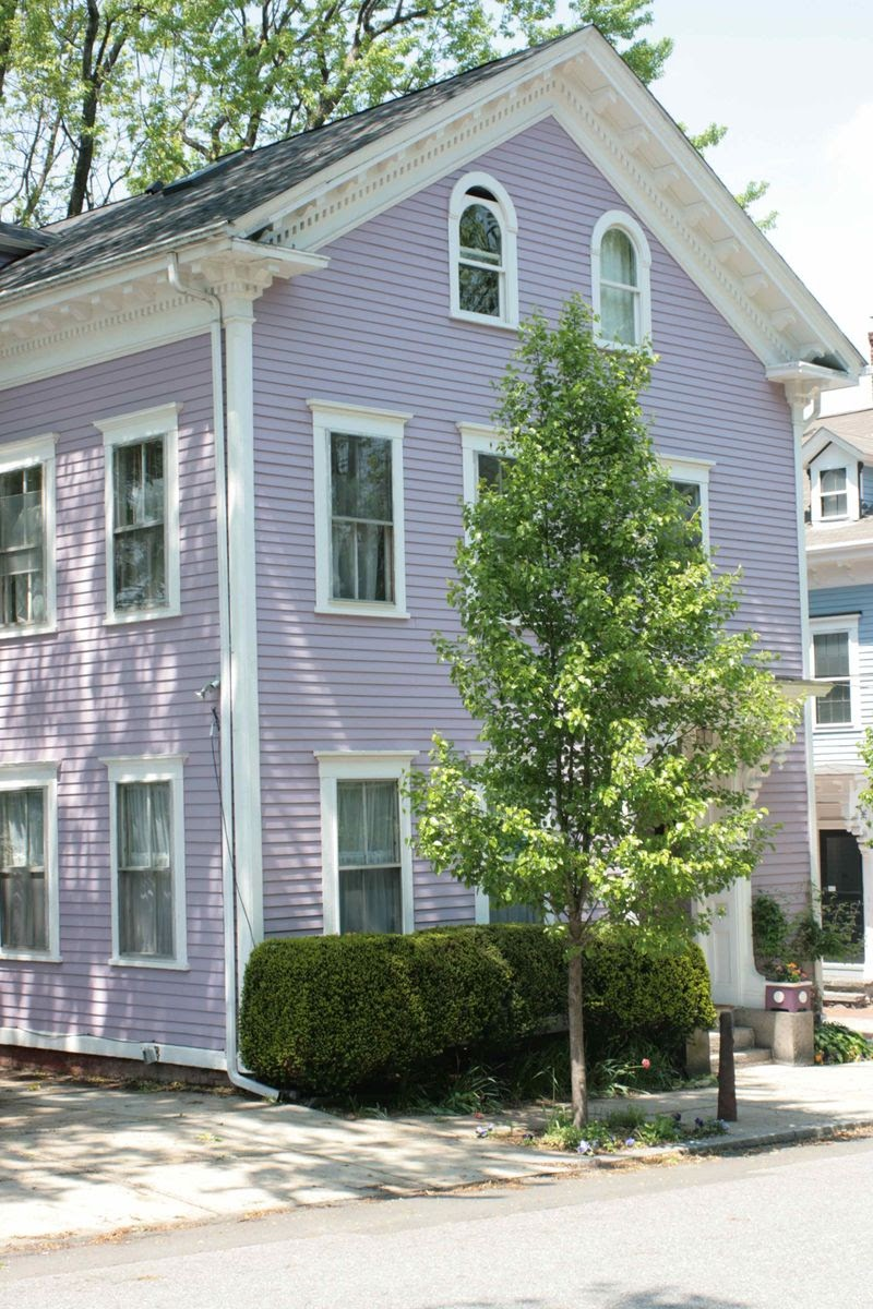 syrenlunden lila hus