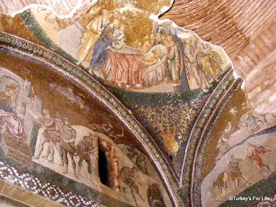 Mosaics And Frescoes in Chora Museum